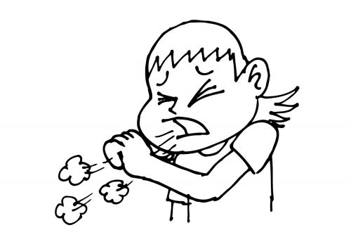Dibujos para colorear de nios resfriados  Imagui