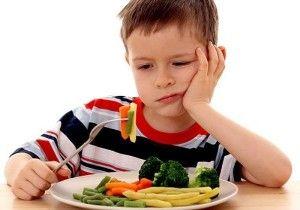 a comer niños