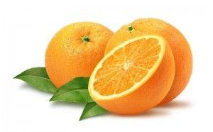 comer naranja