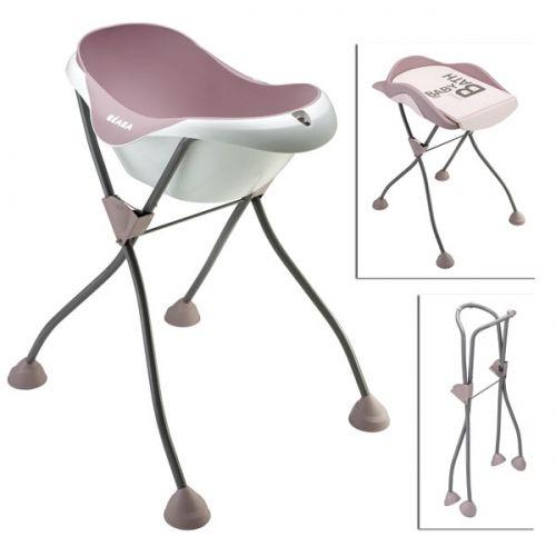 banera-camele-o-pies-pastel-rose-cambiador-soporte-pies-beaba