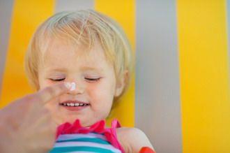 protección solar para bebés crema solar