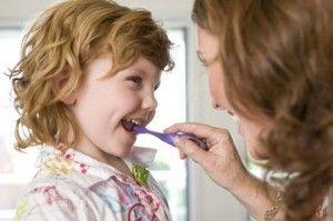 el momento ideal de lavarse los dientes