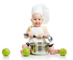 alimentación adecuada para el bebé