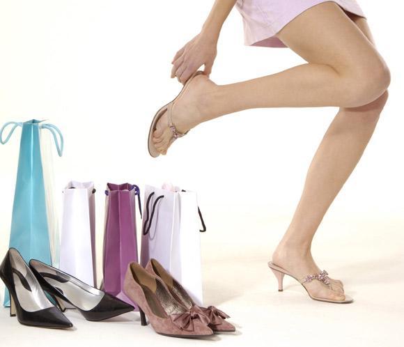 calzado durante el embarazo compras