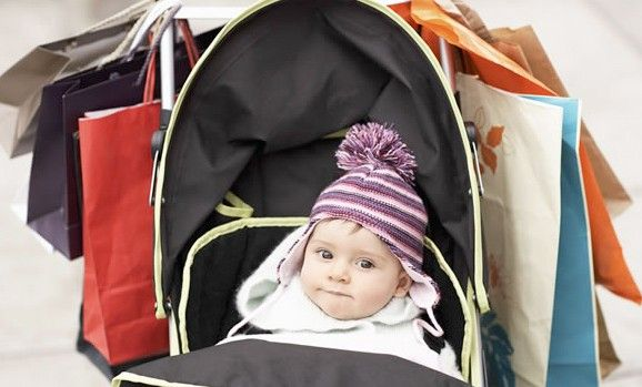 compras para el bebé