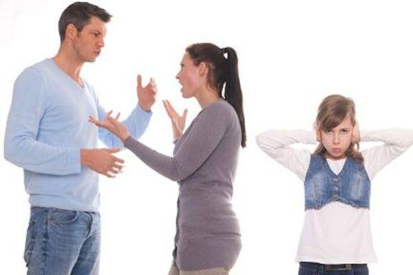 evitar las discusiones delante de los hijos