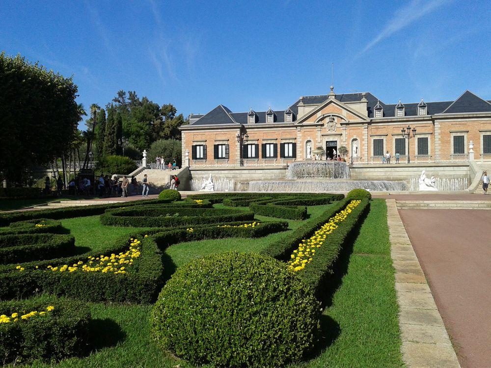 jardines bonitos barcelona