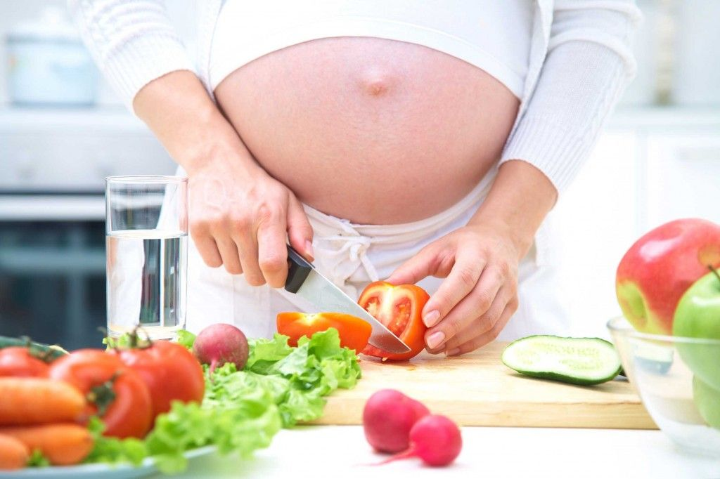 Qué NO comer durante el embarazo
