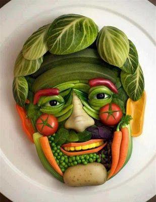 Alimentación a base de frutas y verduras