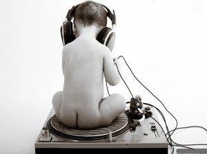 sólo la música del niño