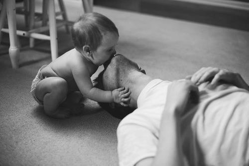 père bébé