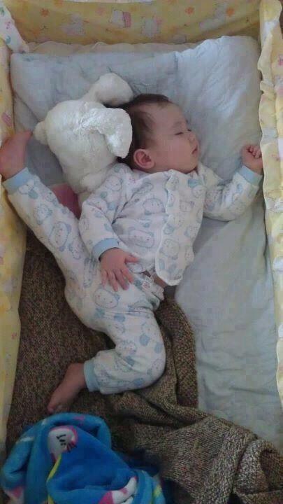 bebé dormidito