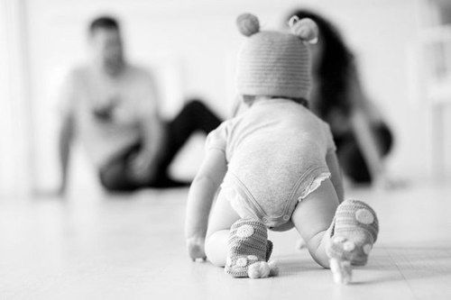 educar a  un bebé