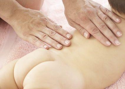 masaje bebé