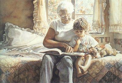 grandma child