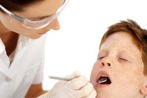 fístula dental en peques