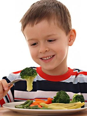 vegetables child