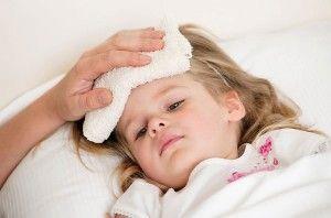 fiebre alta en los niños