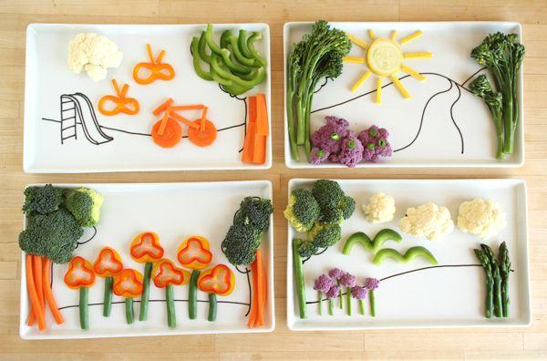 verduras preparas para niños