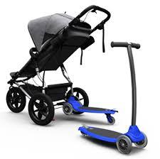 carro con patinete de mountain buggy
