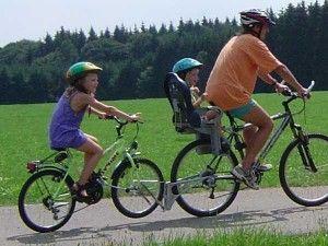 la bicicleta en familia