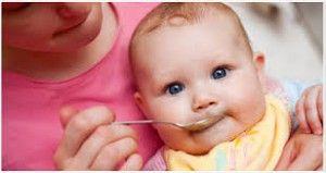 introducción de el huevo en bebés
