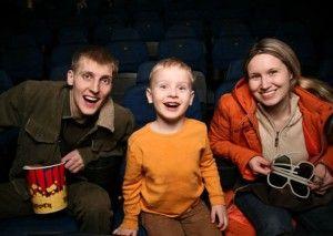 ir al cine con tus hijos