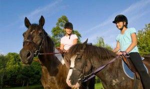 la equitación un deporte muy bueno para los peques