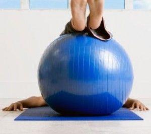 como hacer ejercicio con esfera