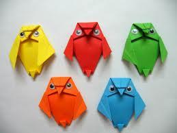 realizar con papel figuras , origami