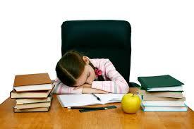 los deberes en los colegios