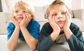 niños que se aburren porque tienen todo