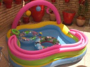este verano en la piscina