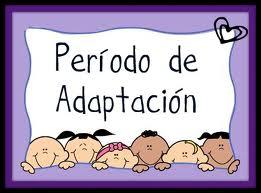 el periodo de adaptación