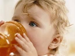 consumo de zumos de fruta en niños