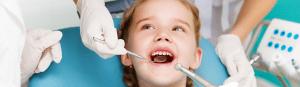 fístula dental en niños