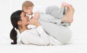 ponerse en forma con el bebé