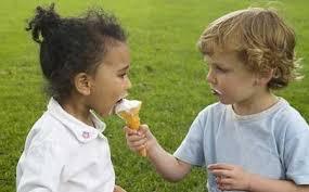 los niños que saben compartir