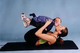 ponerse en forma con un bebé