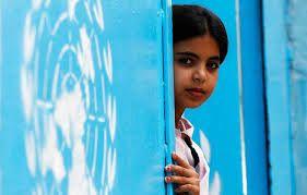 los niños y niñas en palestina