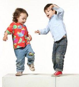 el bebé y el baile