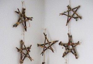 la decoración navideña de los peques