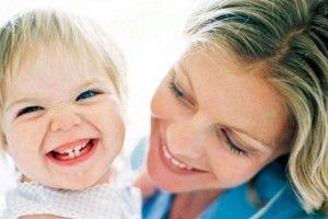 los dientes de leche en los niños