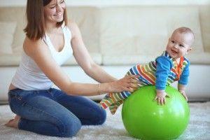 la estimulación en los bebés