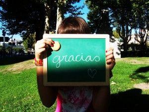 aprender a dar las gracias