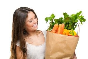 alimentos sanos para el niño