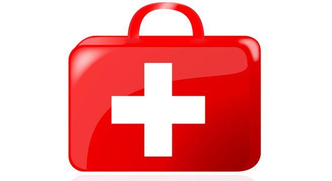botiquín infantil primero auxilios