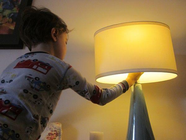 apagar la luz nene
