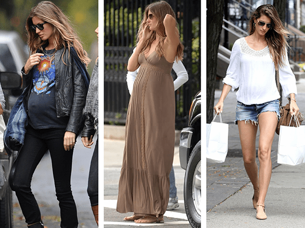 la ropa durante el embarazo