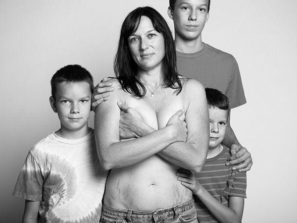 madres retratadas por Beall